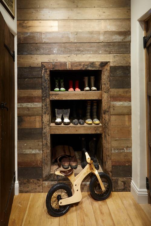 【Houzz】スポーツ用自転車を家の中に収納・保管する5つのアイデア 4番目の画像