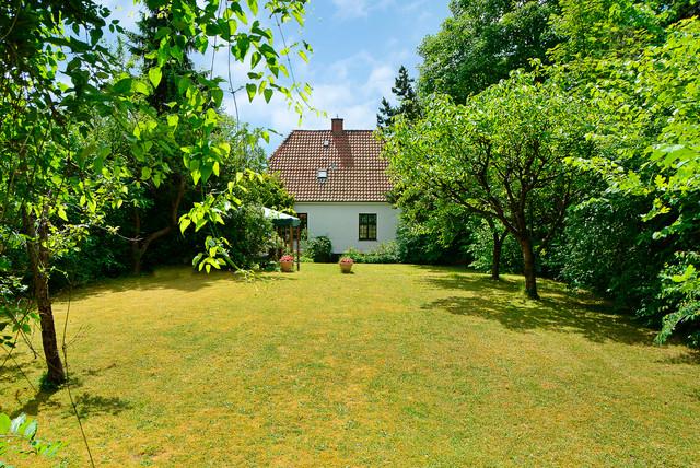 Klassisk villa i Ordrup skandinavisk-have