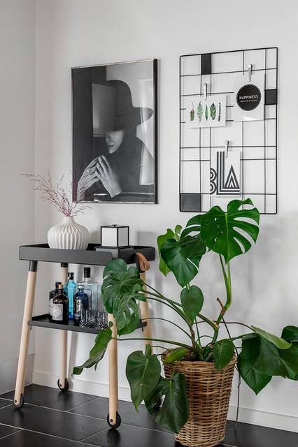 Exempel på en modern hemmabar