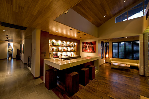 8 home bars that are far from man cave clich s photos huffpost Home bar furniture seattle