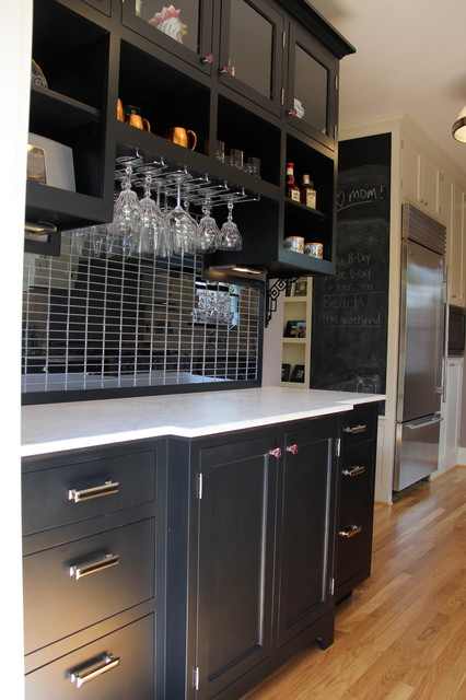 1921 Portland Bungalow Kitchen transitional-home-bar