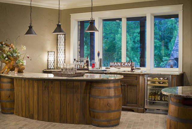 2012 Southern Living Showcase Home traditional-basement