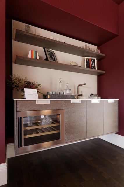 2015 San Francisco Decorator Showcase Modern Home Bar