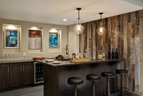 Trending Now 8 Popular Ideas in Home Bars