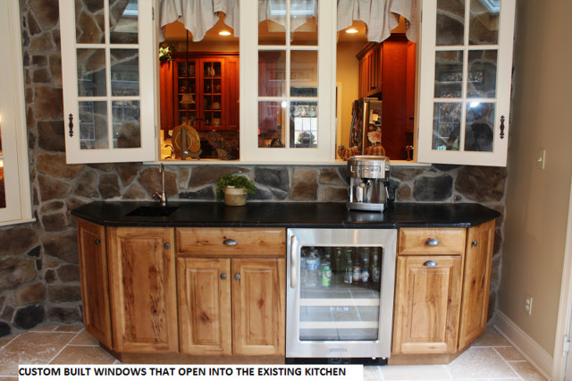 award winning addition rustic kitchen countertops other metro