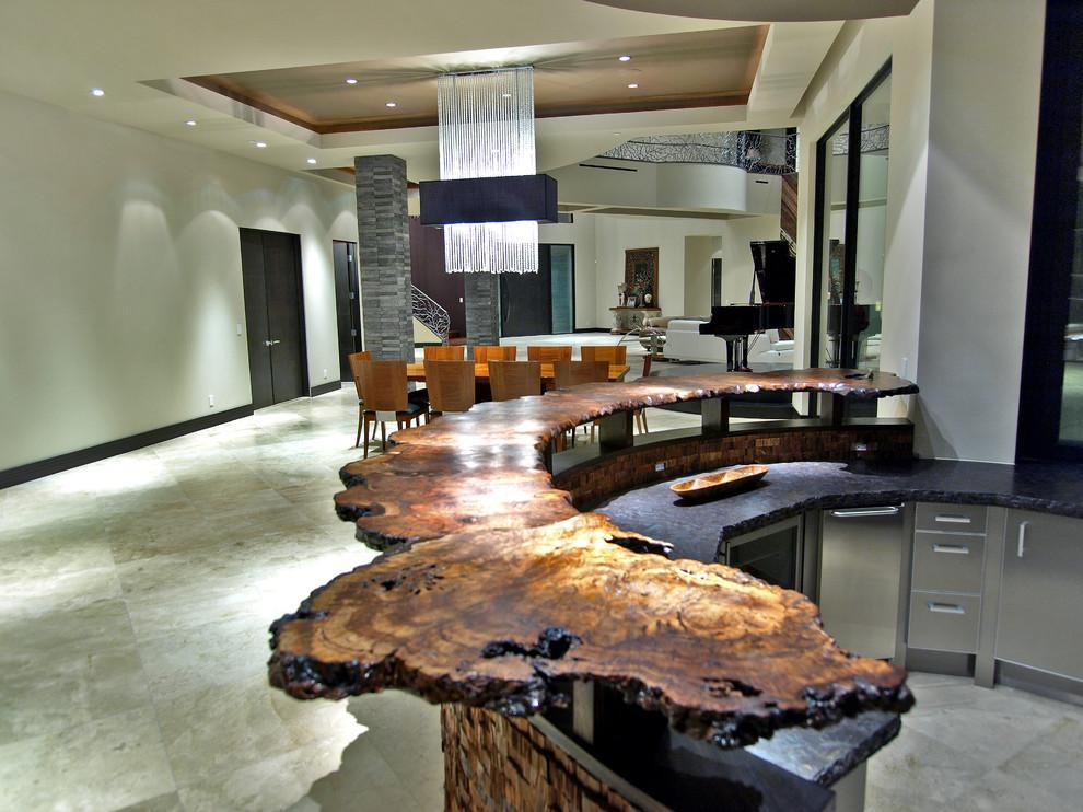 Ahmad Residence Contemporary Home Bar Las Vegas By