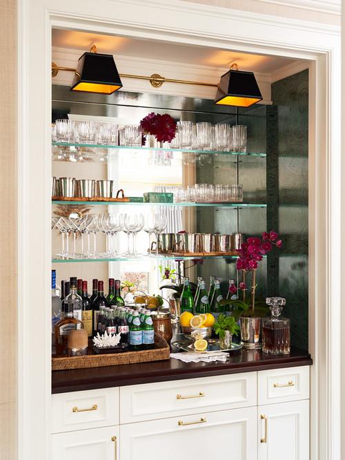 bar mirror with shelf the best shelf design. Black Bedroom Furniture Sets. Home Design Ideas