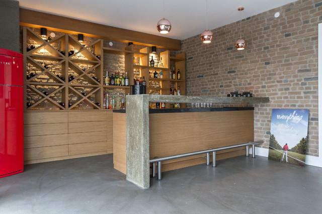 Ba House Modern Home Bar Other By Baris Cinar Interiors