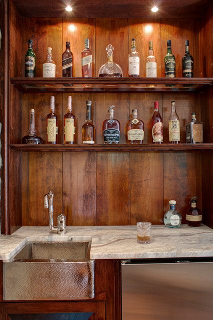 bar area traditional home bar boston by vin gadoury