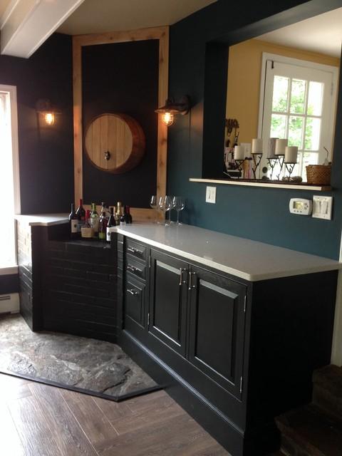 bar area home bar philadelphia by wilkinson remodeling llc