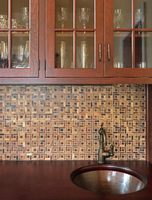Bar Cabinet - Traditional - Home Bar - New York - by McC ...
