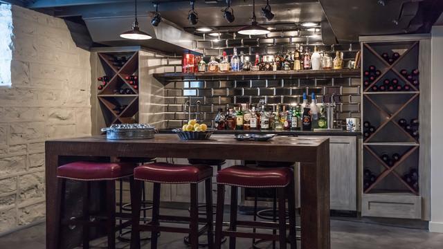 Bar Serving Area Home
