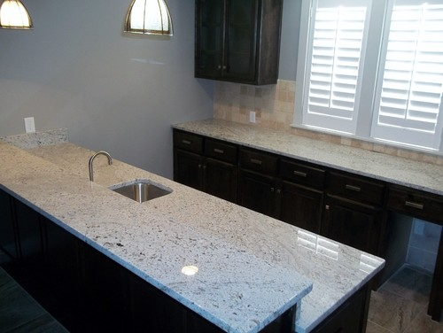 Andino White Granite Kitchen