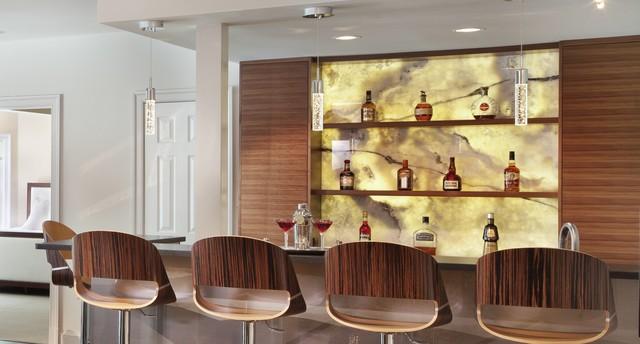 Bar Tops contemporary-home-bar