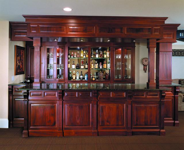 Bars - Traditional - Home Bar - Philadelphia - by Media Rooms Inc