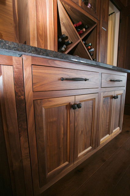 Inspiration for a timeless home bar remodel in Indianapolis