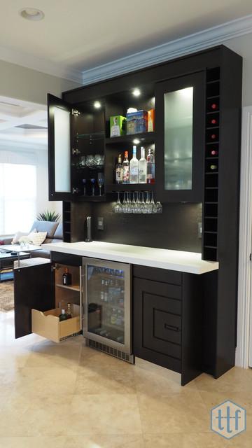 Bars Contemporary Home Bar Miami By True To Form