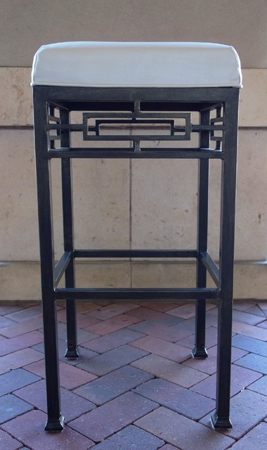 Iron Barstools Traditional Home Bar Other By D 39 Hierro Hand Forged Iron