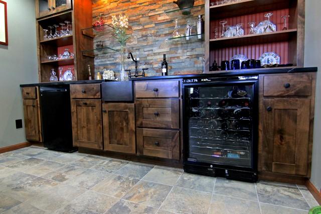 Basement bar area for Home bar area