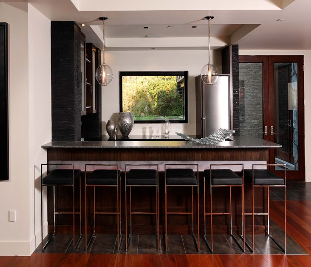 kitchen and bathroom cabinets basement bar contemporary home bar dc metro by 19001