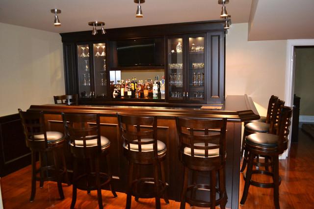Basement Bar Traditional Home Bar Toronto By The Bar Store