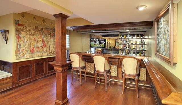Basement Recreation Room traditional-basement