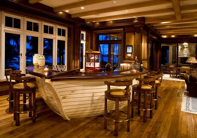 Boat Bar Traditional Home Bar Salt Lake City By