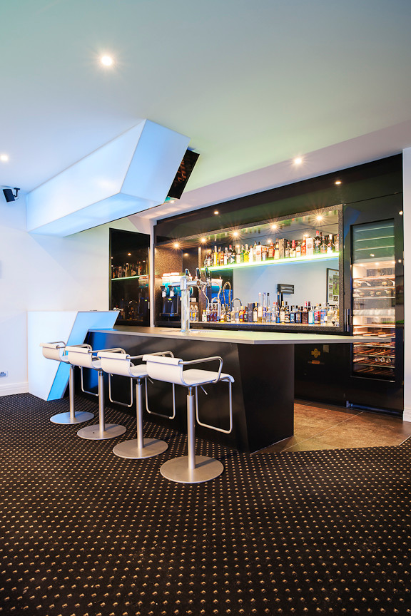 """""""Boys Night In"""" - Contemporary - Home Bar - Melbourne - by ..."""