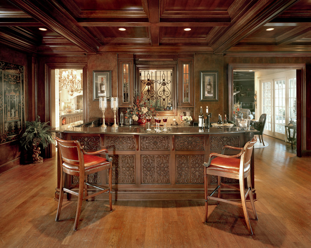 Brighton Manor - Traditional - Home Bar - Cincinnati - by Studer ...