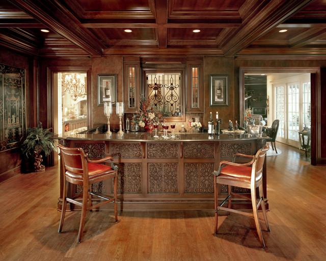 Brighton Manor Traditional Home Bar Cincinnati By Studer Residential Designs