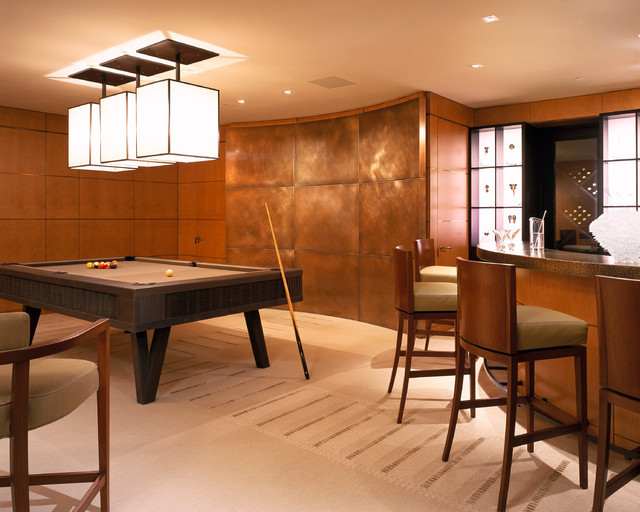 Heltzer Pool Table Contemporary Game Tables