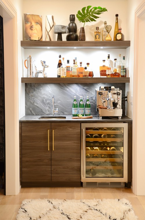 Trending now 8 popular ideas in home bars build realty - Mini bar in house ...