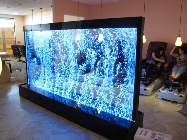 Bubble Wall Room Divider - Modern - Home Bar - Jacksonville - by Water Gallery LLC