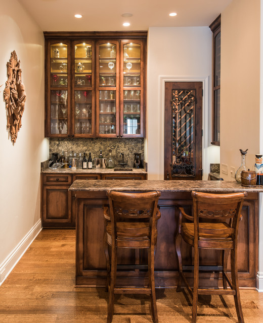 Traditional Home Bar Designs: Other Metro