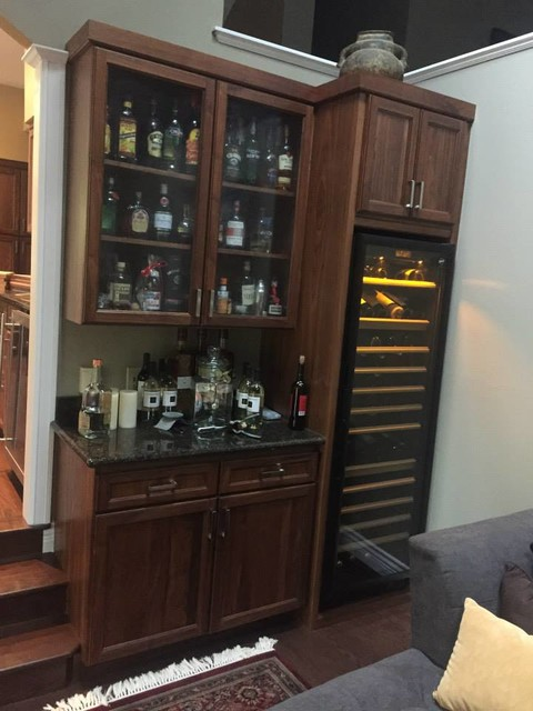 Cabinets by precision custom cabinets Home bar furniture seattle