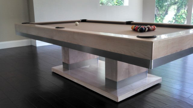 cabo pool table by mitchell pool tables contemporary home bar