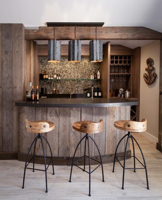 california beach cottage bord de mer bar de salon los angeles par maraya interior design. Black Bedroom Furniture Sets. Home Design Ideas