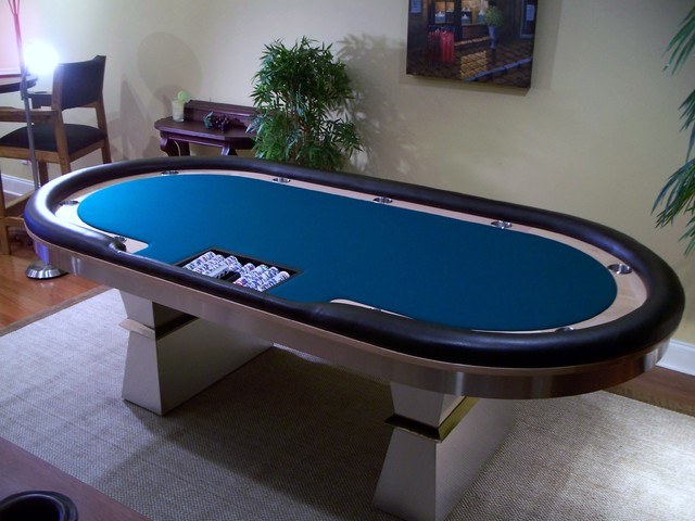Card Tables by MITCHELL | Exclusive Billiard Designs | contemporary-family-room