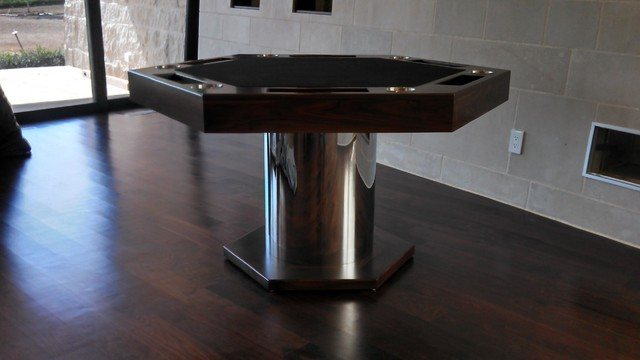 Card Table Designs talon round card table and dining table Card Tables By Mitchell Exclusive Billiard Designs Modern Home Bar