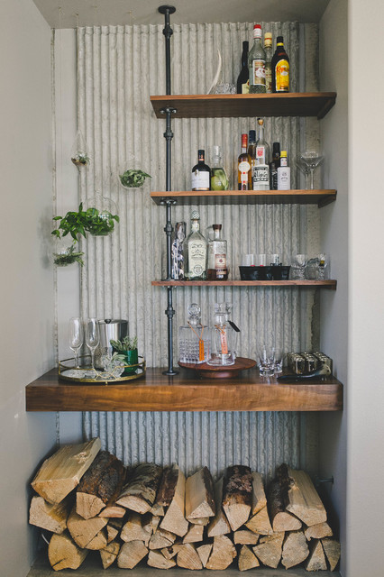 Cardiff By The Sea Modern Zen Rustic Home Bar