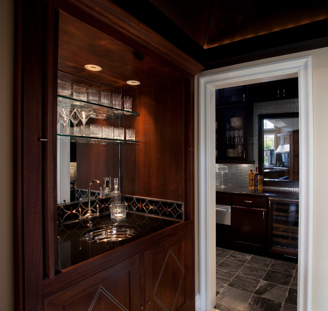 Home Bars For The Casual Drinkers: Casual Elegant Home