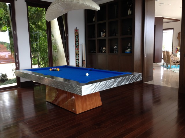 CATALINA Pool Table By MITCHELL Pool Tables Contemporary Home Bar