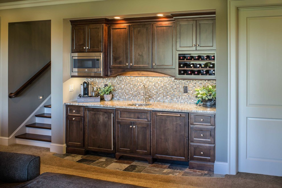 Champion Hills Heirloom Home On The Golf Course Transitional Home Bar Other By Bluestone Construction Llc