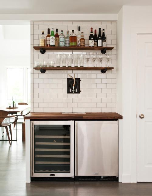 【Houzz】「家飲み」を楽しく! クラフトビールをインテリアに取り入れよう 13番目の画像
