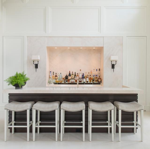 Home Bar Design Ideas Houzz: City Glamour