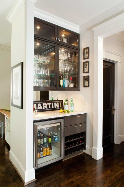 Clairemont Whole House Renovation contemporary-home-bar