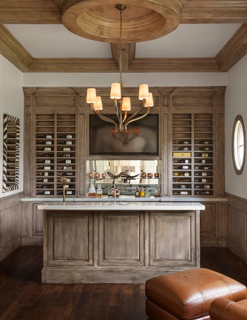 Cochran Chapel Traditional Home Bar Dallas By Robert Elliott Custom Homes