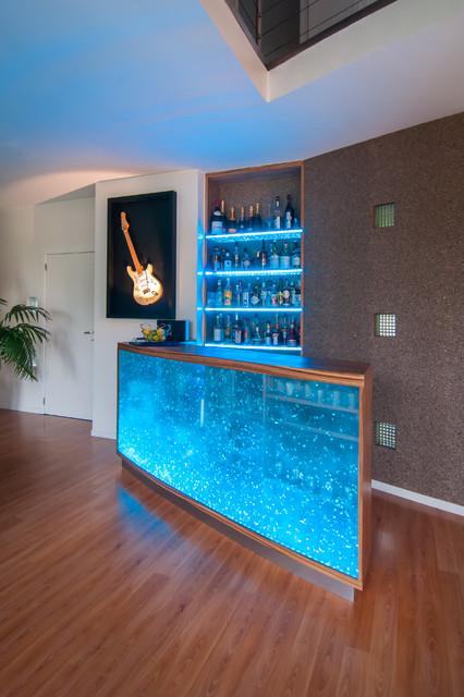 Comptoir - Bar Design - Contemporary - Home Bar - other metro - by ...