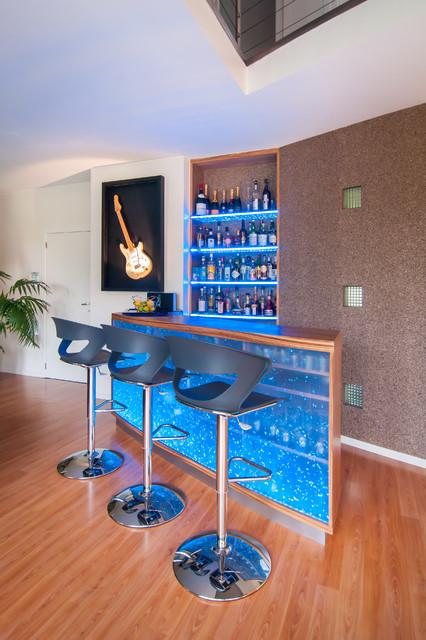 Comptoir - Bar Design - Contemporary - Home Bar - by Sabine Georges ...