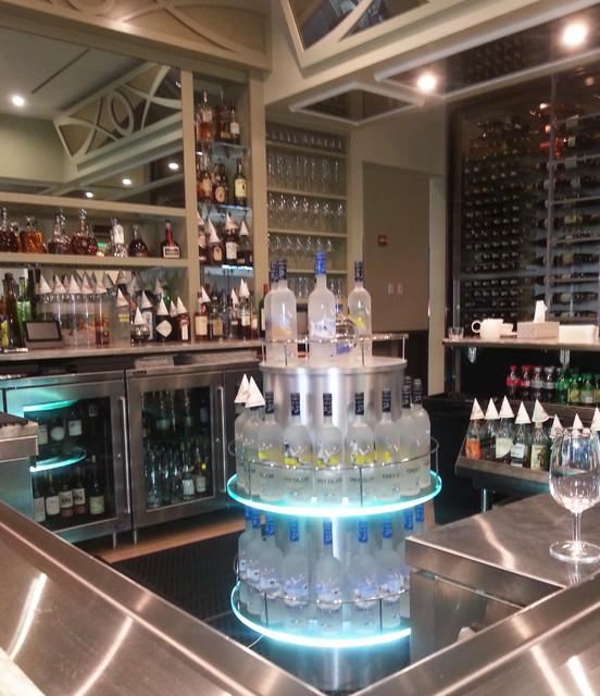 Contemporary Liquor Display Contemporary Home Bar